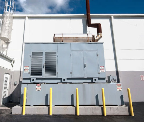 Commercial Power Generator
